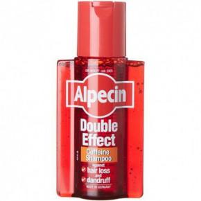 Alpecin Double-Effect Caffeine Shampoo Šampūnas su kofeinu nuo pleiskanų ir plaukų slinkimo 200ml