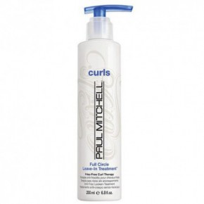 Paul Mitchell Full Circle Leave-In Treatment Nenuplaunama kaukė skirta garbanotiems plaukams 200ml