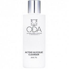 ODA Active Glycolic Cleanser AHA Aktyvusis prausiklis su glikolio rūgštimi 7% 200ml