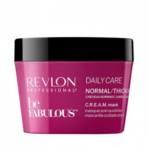 Revlon Professional Be Fabulous C.R.E.A.M. Daily Care Kaukė normaliems plaukams 200ml
