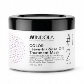 Indola Color Kaukė dažytiems plaukams 200ml