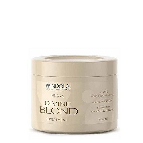 Indola Divine Blond Kaukė atkurianti plaukų spalvą 200ml