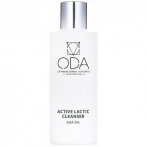 ODA Active Face Cleanser With Lactic Acid, 5% 200ml