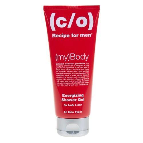 C/O Recipe For Men Energizing Shower Gel 2 in 1 Energijos suteikiantis šampūnas ir prausiklis 2in1 200ml