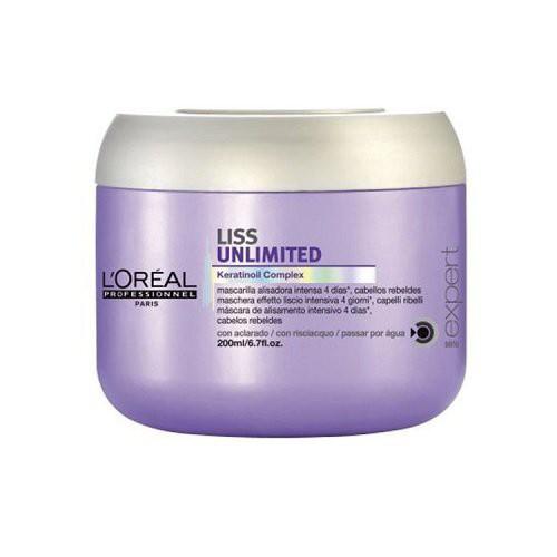 L'Oréal Professionnel Liss Unlimited Nepaklusnių plaukų kaukė 250ml