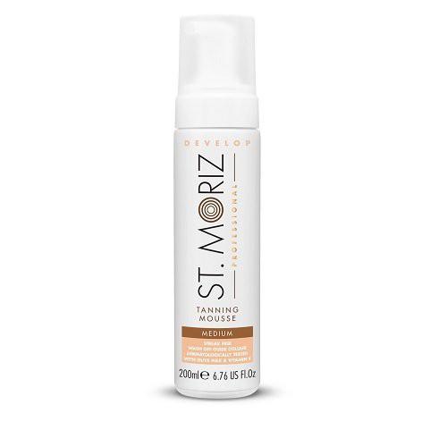 St. Moriz Professional Tanning Mousse Medium Vidutinio atspalvio putos 200ml