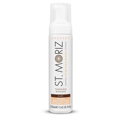 St. Moriz Professional Tanning Mousse Dark Tamsaus atspalvio putos 200ml