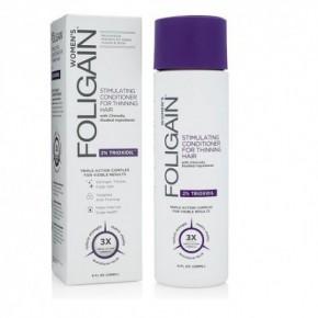 Foligain Hair Regrowth Conditioner Plaukų augimą skatinantis kondicionierius moterims su 2% Trioksidiliu 236ml