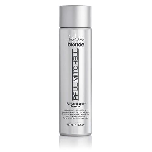 Paul Mitchell Forever Blonde Shampoo Keratininis, drėkinantis šampūnas šviesiems plaukams 250ml