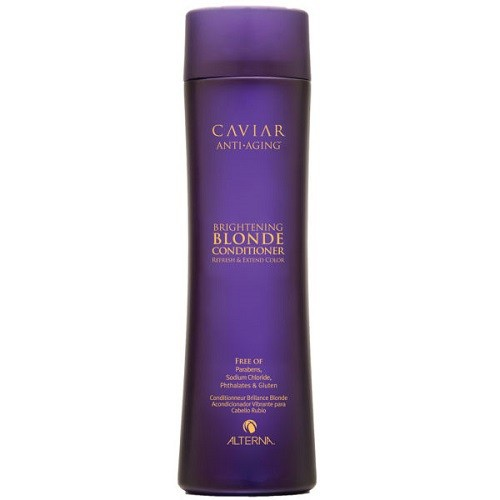 Alterna Caviar Brightening Blonde Kondicionierius blondinėms su jūros šilku 250ml