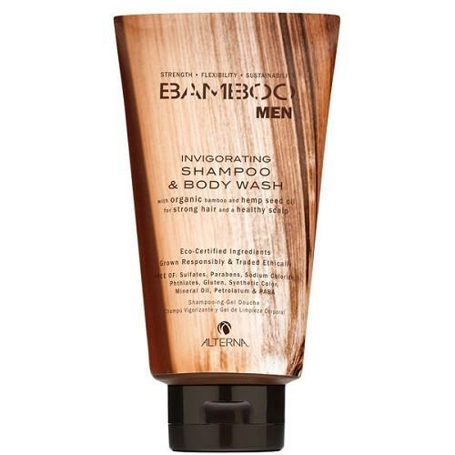 Alterna Bamboo Men Šampūnas ir dušo prausiklis vyrams 250ml