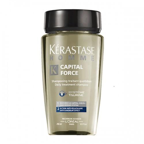 Kerastase Homme Bain Anti-Dandruff Šampūnas vyrams nuo pleiskanų 250ml