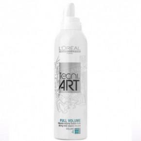 L'Oréal Professionnel Tecni Art Full Volume Stiprios fiksacijos plaukų putos, suteikiančios purumo 250ml