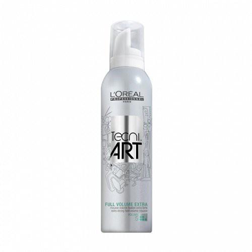 L'Oréal Professionnel Tecni Art Full Volume Extra Ypač stiprios fiksacijos plaukų putos suteikiančios purumo 250ml