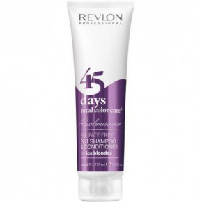 Revlon Professional 45 days TCC Ice Blondes Šampūnas - kondicionierius 275ml