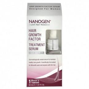 Nanogen Plaukų augimą skatinantis serumas moterims 30ml