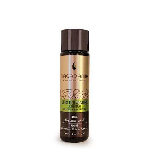 Macadamia Ultra Rich Moisture Oil Treatment Intensyvaus poveikio drėkinamasis aliejus plaukams 30ml