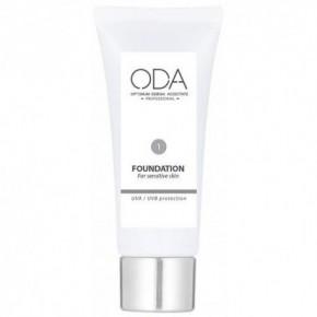 ODA Foundation For Sensitive Skin, Nr. 1 30ml