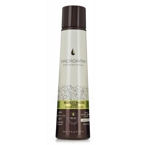Macadamia Weightless Moisture Shampoo Neapsunkinantis plaukų drėkinamasis šampūnas 1000ml