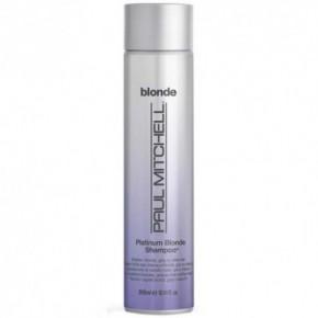Paul Mitchell Platinum Blonde Shampoo Pilkinantis, drėkinantis šampūnas šviesintiems plaukams 300ml