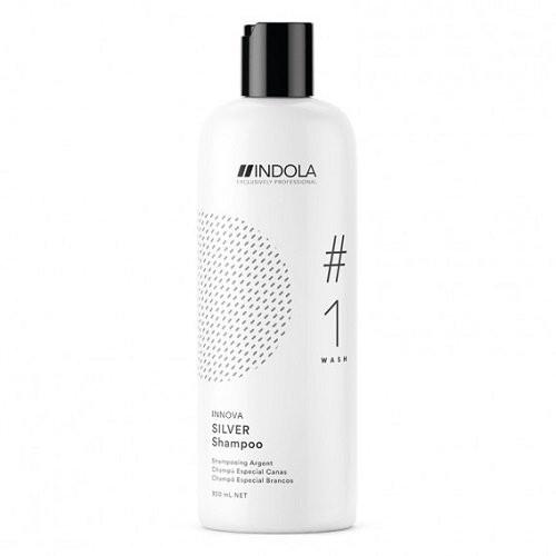 Indola Silver Šampūnas šviesiems plaukams 300ml