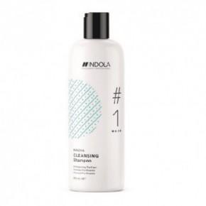 Indola Specialists Cleasing Giliai valantis plaukų šampūnas 300ml