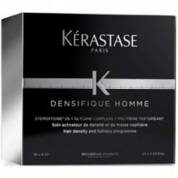Kerastase Densifique Homme Ampulės suteikiančios plaukams tankumo ir vešlumo 30x6ml