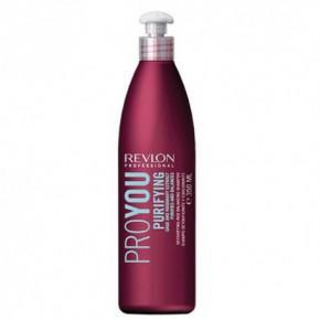 Revlon Professional Pro You Purifying Plaukų šampūnas riebiai galvos odai su rozmarinu 350ml