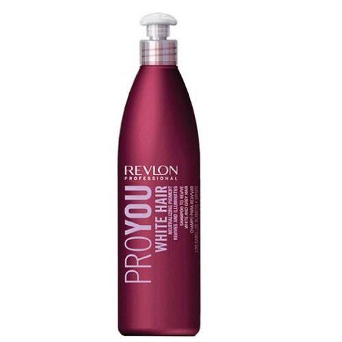 Revlon Professional Pro You White Šampūnas blonduotiems ir žiliems plaukams 350ml