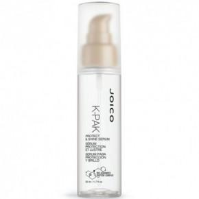 Joico K-PAK Protect & Shine Serum Lengvas, blizgesio suteikiantis ir glotninantis plaukų serumas 50ml
