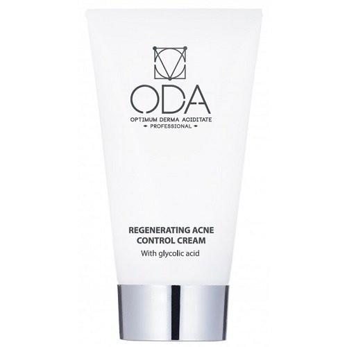 ODA Regenerating Acne Control Cream Regeneruojamasis veido kremas nuo spuogų 50ml