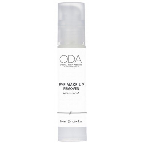 ODA Eye Make - Up Remover Akių makiažo valiklis su ricinos aliejumi 50ml