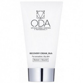 ODA Recovery Cream_Rich Atkuriamasis veido kremas sausai/ jautriai odai 50ml