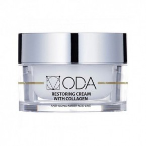 ODA Restoring Cream With Collagen Atstatomasis veido kremas su kolagenu 50ml
