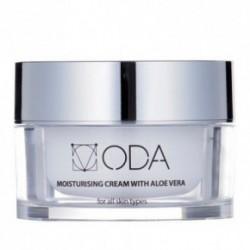 ODA Moisturizing Cream with Aloe Vera Drėkinamasis kremas su alavijais ir hialuronu 50ml