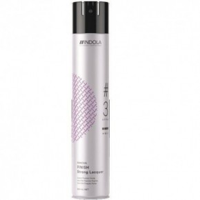 Indola Strong Finish Spray Stiprios fiksacijos plaukų lakas 500ml