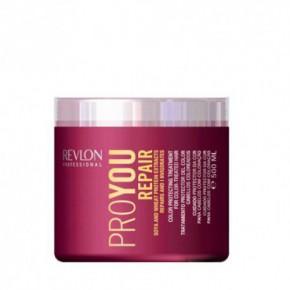 Revlon Professional Pro You Repair Kaukė pažeistiems plaukams su soja ir kviečių proteinais 500ml