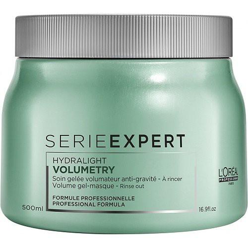 L'Oréal Professionnel Volumetry Hydralight Purinamoji želinė gležnų ir jautrių plaukų kaukė 500ml