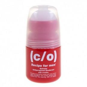 C/O Recipe For Men Extreme Antiperspirant Deodorant Dezodorantas antiperspirantas rutulinis 60ml