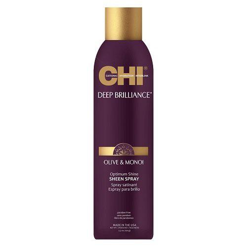 CHI Deep Brilliance Purškiamas plaukų blizgesys su alyvuogių ir Monoi aliejais 150g