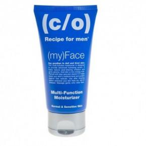 C/O Recipe For Men Multi Function Moisturizer Intensyviai drėkinantis veido kremas normaliai ir jautriai odai 75ml