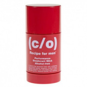 C/O Recipe For Men Perfomance deodorant stick Pieštukinis dezodorantas 75ml