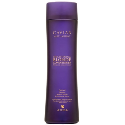 Alterna Caviar Brightening Blonde Kondicionierius blondinėms su jūros šilku 250ml