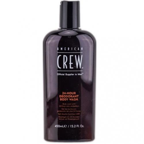 American Crew 24-Hour Body Wash Dezodoruojamasis kūno dušo želė 450ml