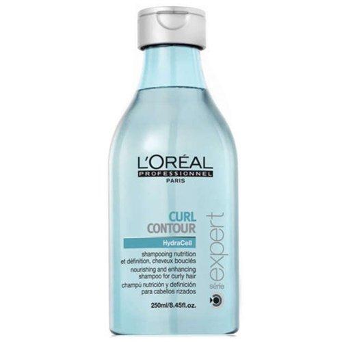 L'Oreal Professionnel Curl Contour šampūnas 250ml garbanotiems plaukams atkuria plaukų struktūrą, suteikia garbanoms švelnumo ir žvilgesio.