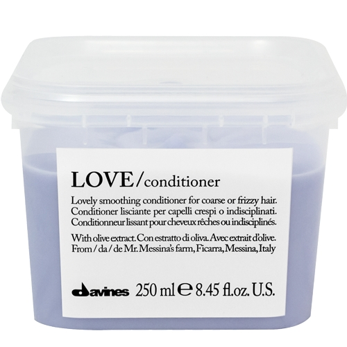 Davines Love smoothing Plaukus tiesinantis kondicionierius 250ml