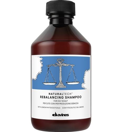 Davines Rebalancing Šampūnas riebiai galvos odai 250ml