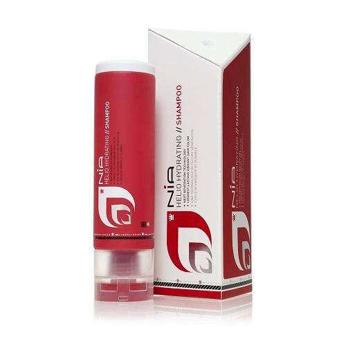 DS Laboratories NIA Drėkinantis, spalvą atgyvinantis šampūnas 180ml