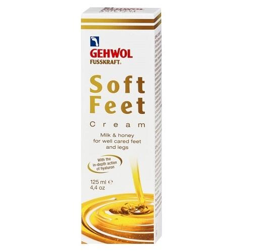 Gehwol Fusskraft Soft Feet Pėdų kremas su hialurono rūgštimi  125ml