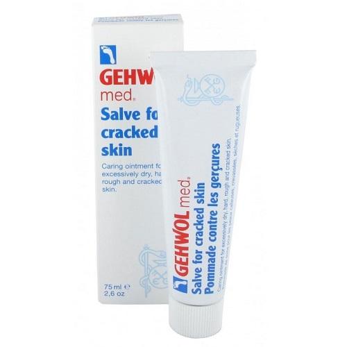 Gehwol Med Salve for Cracked Skin Trūkinėjančios kojų odos tepalas 75ml